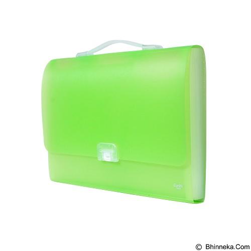 BANTEX Expanding File with Handle Folio [3603 15] - Grass Green (Merchant) - Expandable Folder
