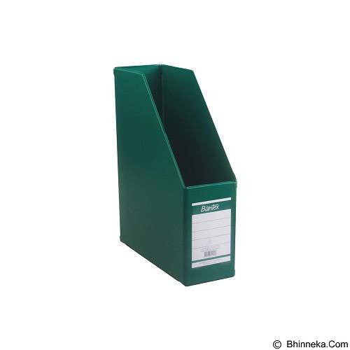 BANTEX Magazine File 10cm [4011-15] - Grass Green - Box File