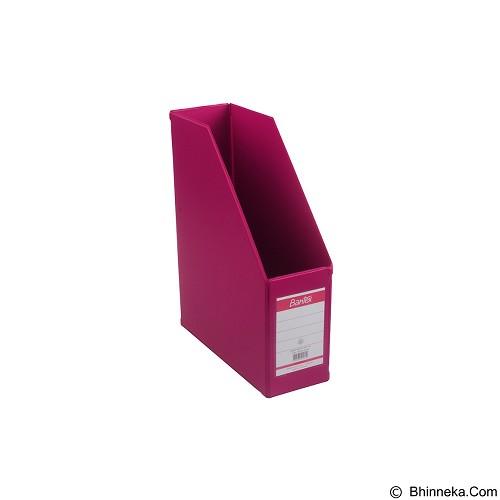 BANTEX Magazine File 10cm [4011-61] - Grape - Box File
