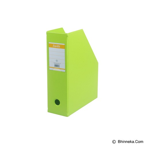 BANTEX Magazine File 10cm [4011-65] - Lime - Box File