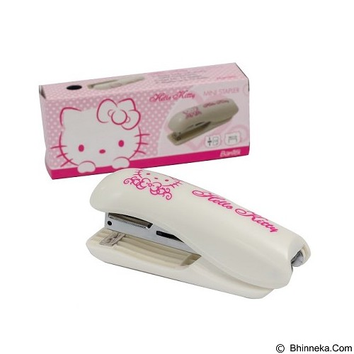BANTEX Mini Stapler Hello Kitty [9330A07HK] - White - Stapler