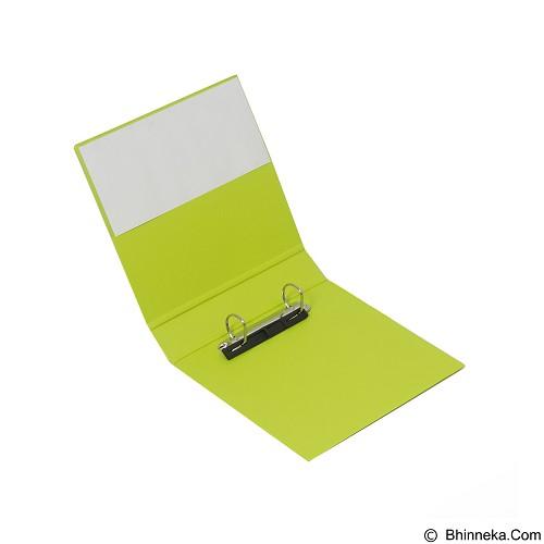 BANTEX Ring Binder 2 Ring 25mm A5 [8221 65] - Lime