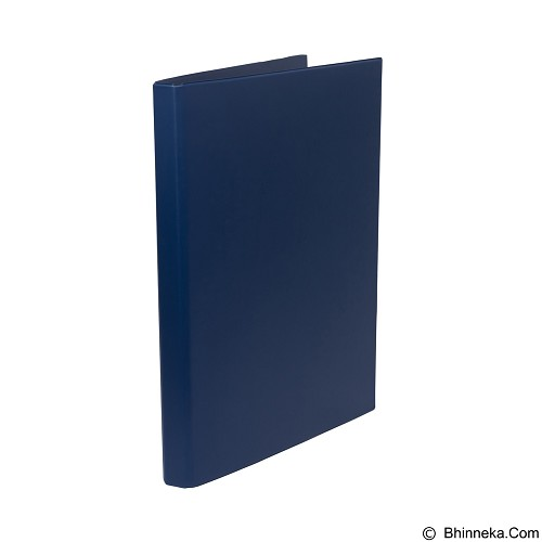 BANTEX Ring Binder 2 Ring O 20mm Folio [8216 01] - Blue - Ring Binder