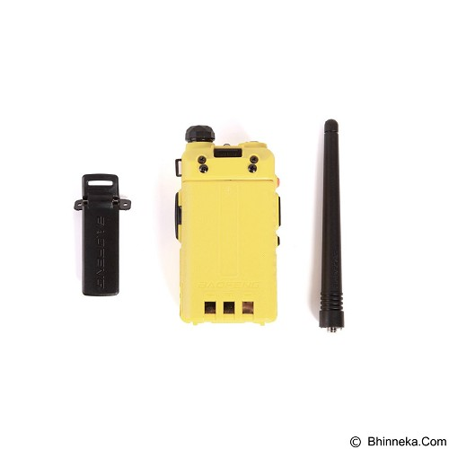 BAOFENG Dual Band Handy Talky [UV-5R] - Yellow (Merchant) - Handy Talky / Ht