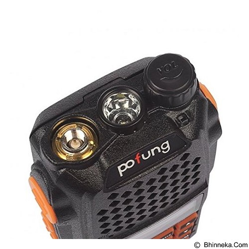 BAOFENG Radio Walkie Handy Talky Pofung Dual Band 5W [UV-6R] (Merchant) - Handy Talky / Ht
