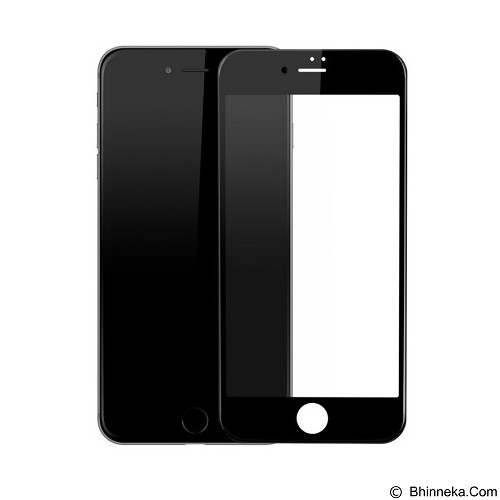 BASEUS 0.23mm PET Soft 3D Anti-Blue Light Tempered Glass Film Apple iPhone 7 Plus - Black (Merchant) - Screen Protector Handphone