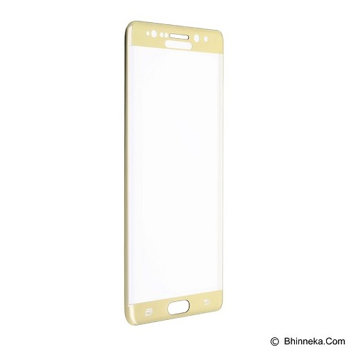 BASEUS 3D Arc Tempered Glass Film For Samsung Galaxy Note 7 - Transparent Gold (Merchant) - Casing Handphone / Case