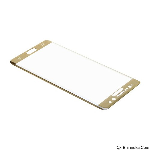 BASEUS 3D Arc Tempered Glass Film for Samsung Galaxy Note 7 - Transparent Gold (Merchant) - Screen Protector Handphone