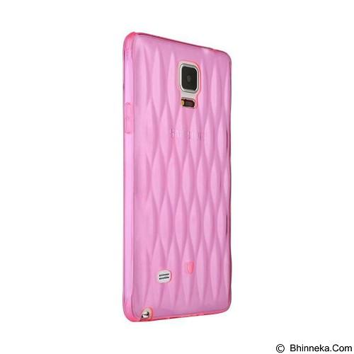 BASEUS Air Bag Case Samsung Galaxy Note 4 - Pink (Merchant) - Casing Handphone / Case