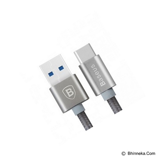 BASEUS Aluminium USB Type C to USB 3.0 Male 1M - Grey (Merchant) - Cable / Connector Usb