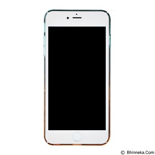 BASEUS Amber Case Apple iPhone 6 Plus/iPhone 6S Plus - Cyan Orange (Merchant) - Casing Handphone / Case