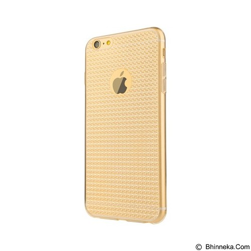 BASEUS Bling Case For Apple iPhone 6/6s - Champagne Gold - Casing Handphone / Case