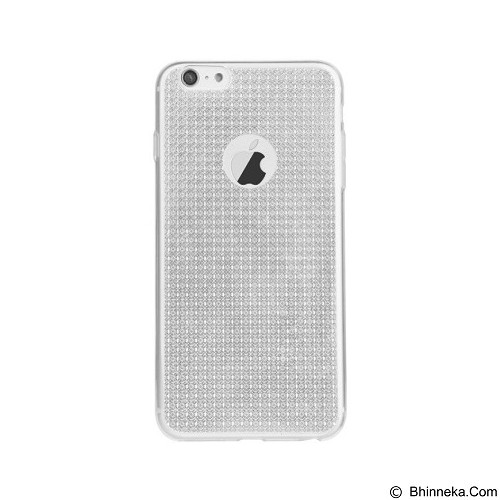 BASEUS Bling Case For Apple iPhone 6/6s - Moonlight Silver - Casing Handphone / Case