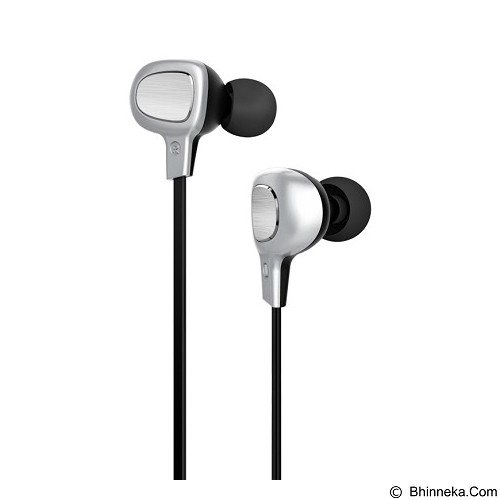 BASEUS Comma Bluetooth Earphone [B15] - Silver/Black (Merchant) - Headset Bluetooth