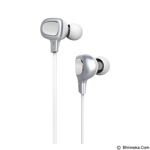 BASEUS Comma Bluetooth Earphone [B15] - Silver/White (Merchant) - Headset Bluetooth