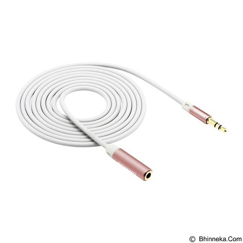 BASEUS Eing 3.5 Male to Female Extension Cable [B36] - Rose Gold (Merchant) - Cable / Connector Analog