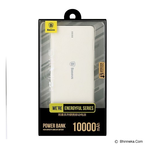 BASEUS Energyful Series 10000mAh Powerbank with Micro Cable - Grey - Portable Charger / Power Bank