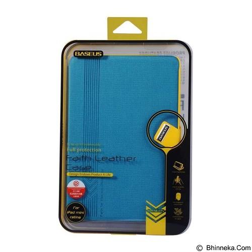 BASEUS Faith Leather Case for Apple iPad Mini 1/2/3 [LTAPMINI2-XY03] - Blue - Casing Tablet / Case