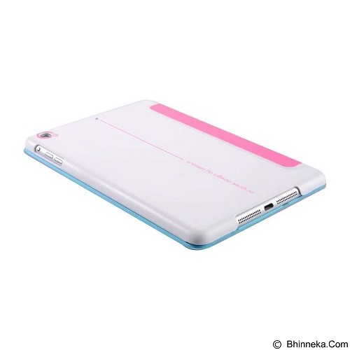 BASEUS Folio Case for Apple iPad Mini 1/2/3 [LTAPMINI2-SL0R] - Rose - Casing Tablet / Case