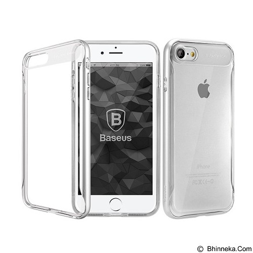 BASEUS Fusion Series Case For Apple iPhone 7 - Silver (Merchant) - Casing Handphone / Case