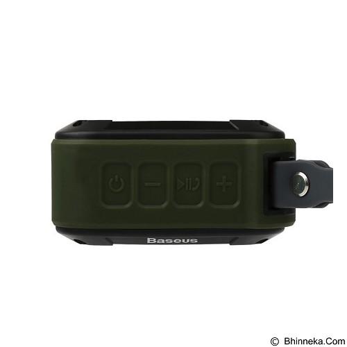 BASEUS Gaiety Series Outdoor Sport Bluetooth Speaker - Army Grey - Speaker Bluetooth & Wireless