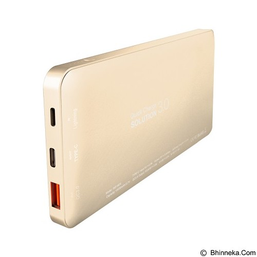 BASEUS Galaxy Series QC3.0 Power Bank 10000mAh - Luxury Gold (Merchant) - Portable Charger / Power Bank