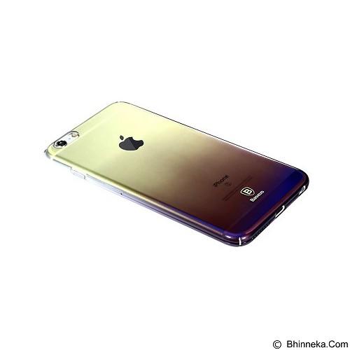 BASEUS Glaze Case Apple iPhone 6 Plus / 6s Plus - Gradient Black (Merchant) - Casing Handphone / Case