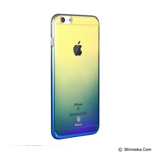 BASEUS Glaze Case Apple iPhone 6 Plus / 6s Plus - Gradient Blue (Merchant) - Casing Handphone / Case