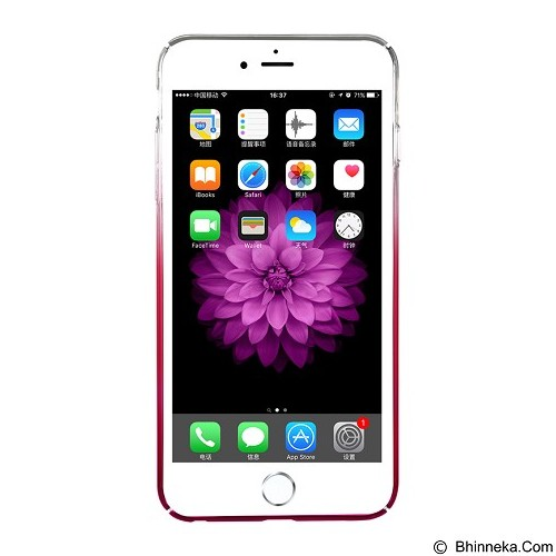 BASEUS Glaze Case Apple iPhone 6 Plus / 6s Plus - Gradient Pink (Merchant) - Casing Handphone / Case