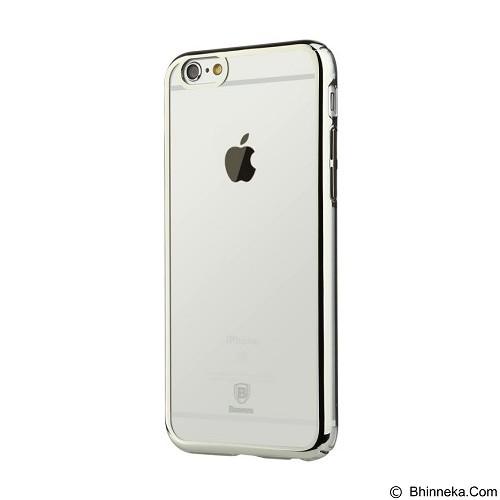 BASEUS Glitter Case For Apple iPhone 6/6s Plus - Silver - Casing Handphone / Case