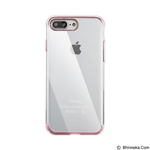 BASEUS Glitter Case (PC) For iPhone 7 Plus - Dark Blue (Merchant) - Casing Handphone / Case