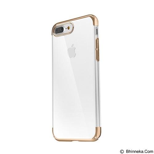 BASEUS Glitter Case (PC) For iPhone 7 Plus - Gold (Merchant) - Casing Handphone / Case