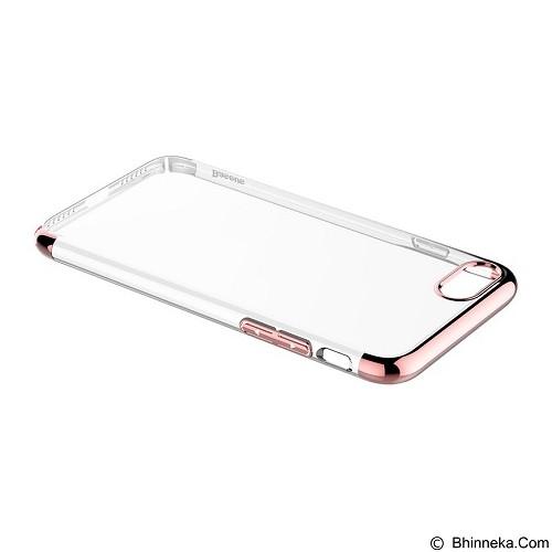 BASEUS Glitter Case (PC) For iPhone 7 Plus - Rose Gold (Merchant) - Casing Handphone / Case
