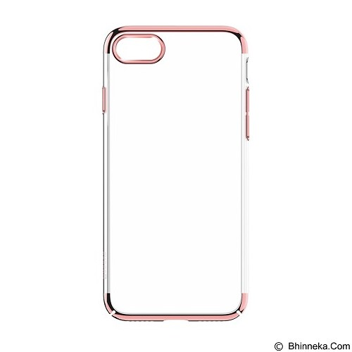 BASEUS Glitter Case (PC) For iPhone 7 - Rose Gold (Merchant) - Casing Handphone / Case