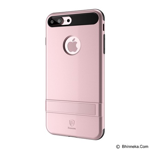 BASEUS Ibracket Case Apple iPhone 7 Plus - Rose Gold (Merchant) - Casing Handphone / Case