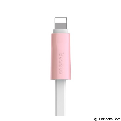 BASEUS Ice Cream Quick Charge Cable2.1A 1M for Apple iPhone 5/7 - Pink (Merchant) - Cable / Connector Usb