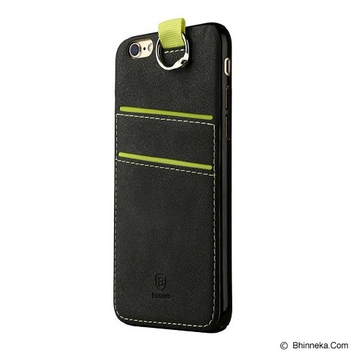 BASEUS Lang Series For iPhone 6/6S - Black - Casing Handphone / Case