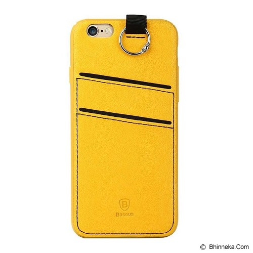 BASEUS Lang Series for Apple iPhone 6/6S - Yellow - Casing Handphone / Case
