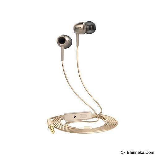 BASEUS Lark Series Boeing Earphones - Luxury Gold (Merchant) - Earphone Ear Monitor / Iem