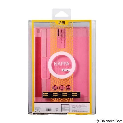 BASEUS Nappa Case Apple iPad Air [LTAPIPAD5-TS04] - Pink - Casing Tablet / Case