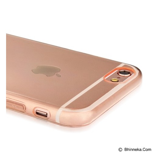 BASEUS Pure Case For Apple iPhone 6/6s - Pink Gold - Casing Handphone / Case