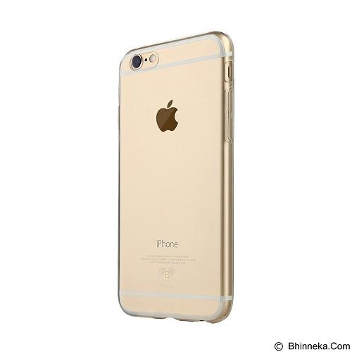 BASEUS Pure Case For Apple iPhone 6/6s Plus - Transparent Golden - Casing Handphone / Case