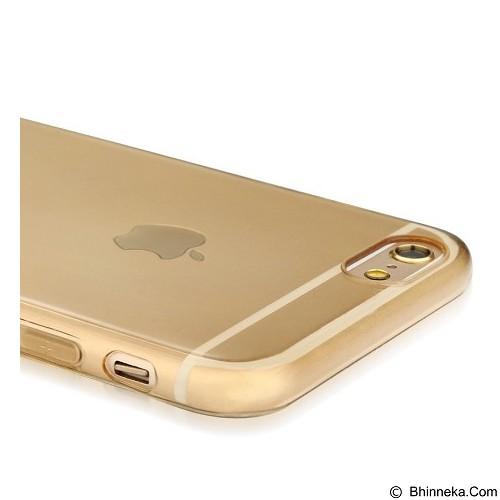 BASEUS Pure Case For Apple iPhone 6/6s - Transparent Golden - Casing Handphone / Case
