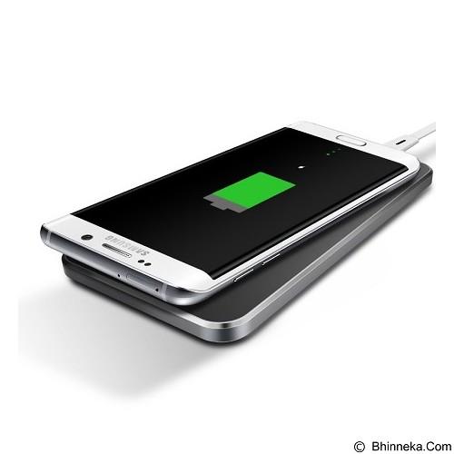 BASEUS Rectangle Shape Wireless Charging Pad - Dark Gray (Merchant) - Charger Handphone