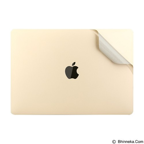 BASEUS Screen Protector Packages For New MacBook 12 Inch - Luxury Gold (Merchant) - Notebook Skin
