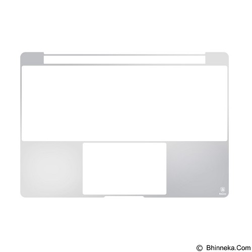 BASEUS Screen Protector Packages For New MacBook 12 Inch - Silver (Merchant) - Notebook Skin