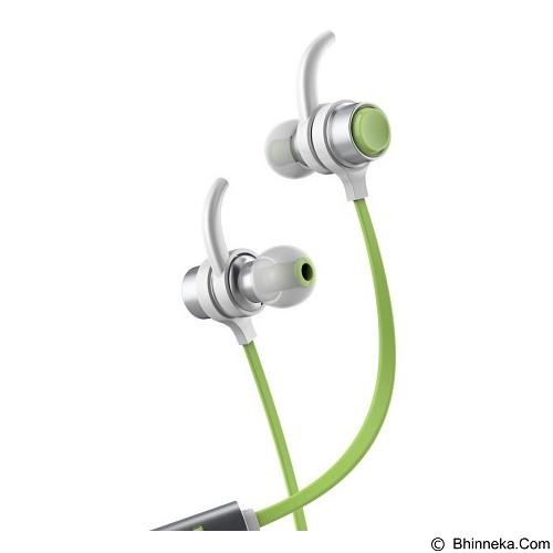 BASEUS Seal Bluetooth Earphone [B16] - Silver/Green (Merchant) - Headset Bluetooth