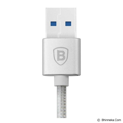 BASEUS Sharp Series Type-C Cable - Silver - Cable / Connector Usb