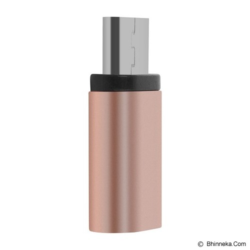 BASEUS Sharp Series USB Type-C Adapter - Rose Gold - Cable / Connector USB