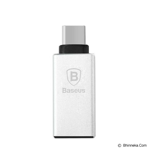 BASEUS Sharp Series USB Type-C Adapter - Silver - Cable / Connector Usb